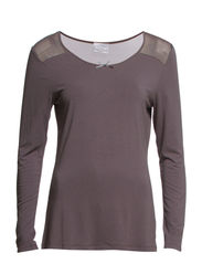 T-shirt long sleeve - Cashmere