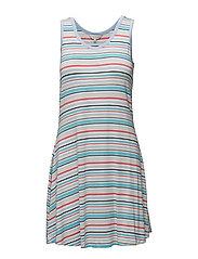 Dress - BLUE STRIPE