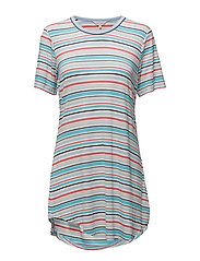 Big shirt - BLUE STRIPE