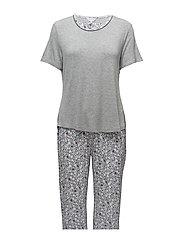 Pyjamas w.short slv. - LAVENDER FLORAL