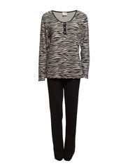 Pyjamas - Zebra Beige