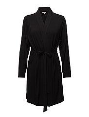 Short Kimono - BLACK