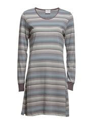 Nightgown - Stripe Cashmere