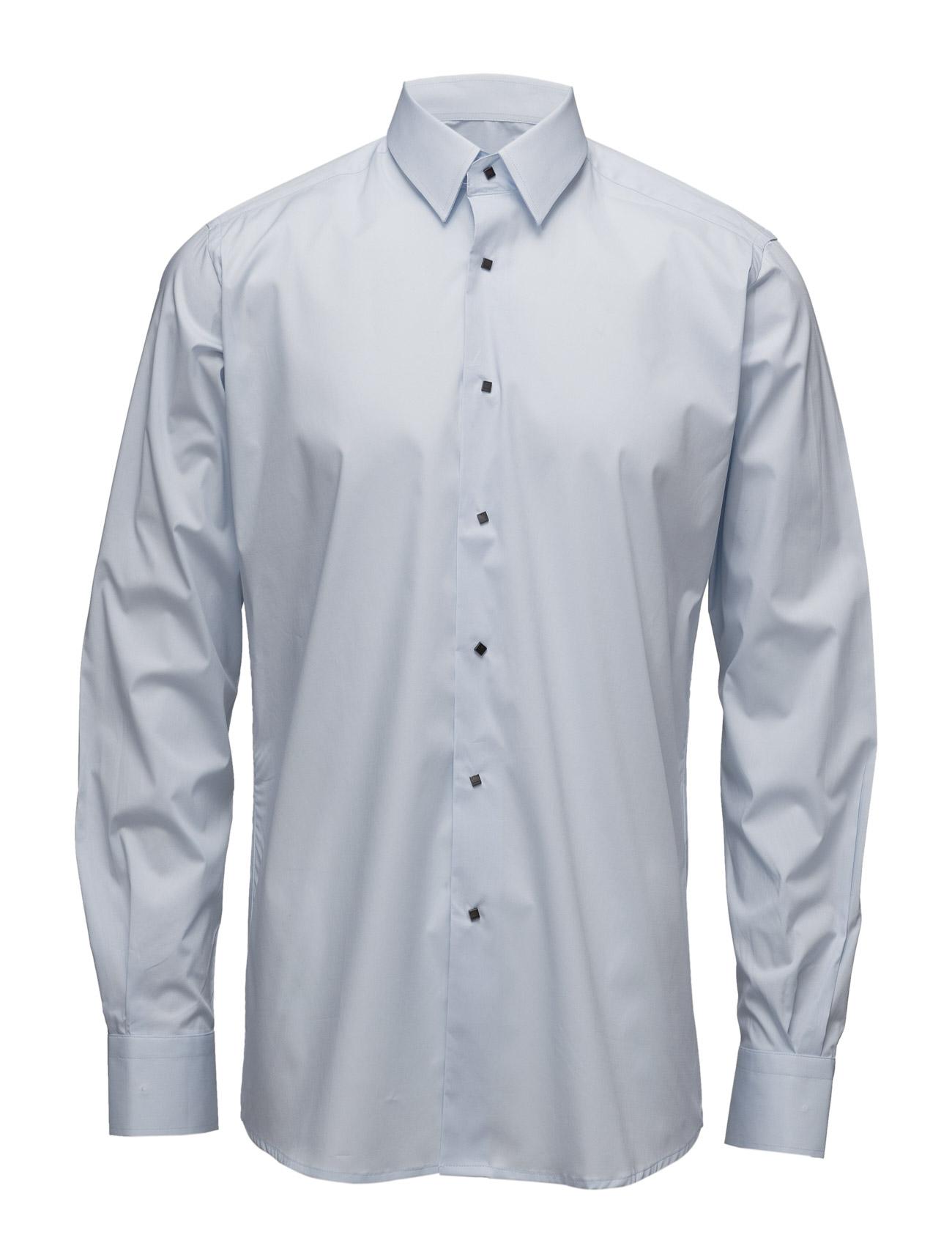 Shirt Slim Lagerfeld Business til Herrer i Blå