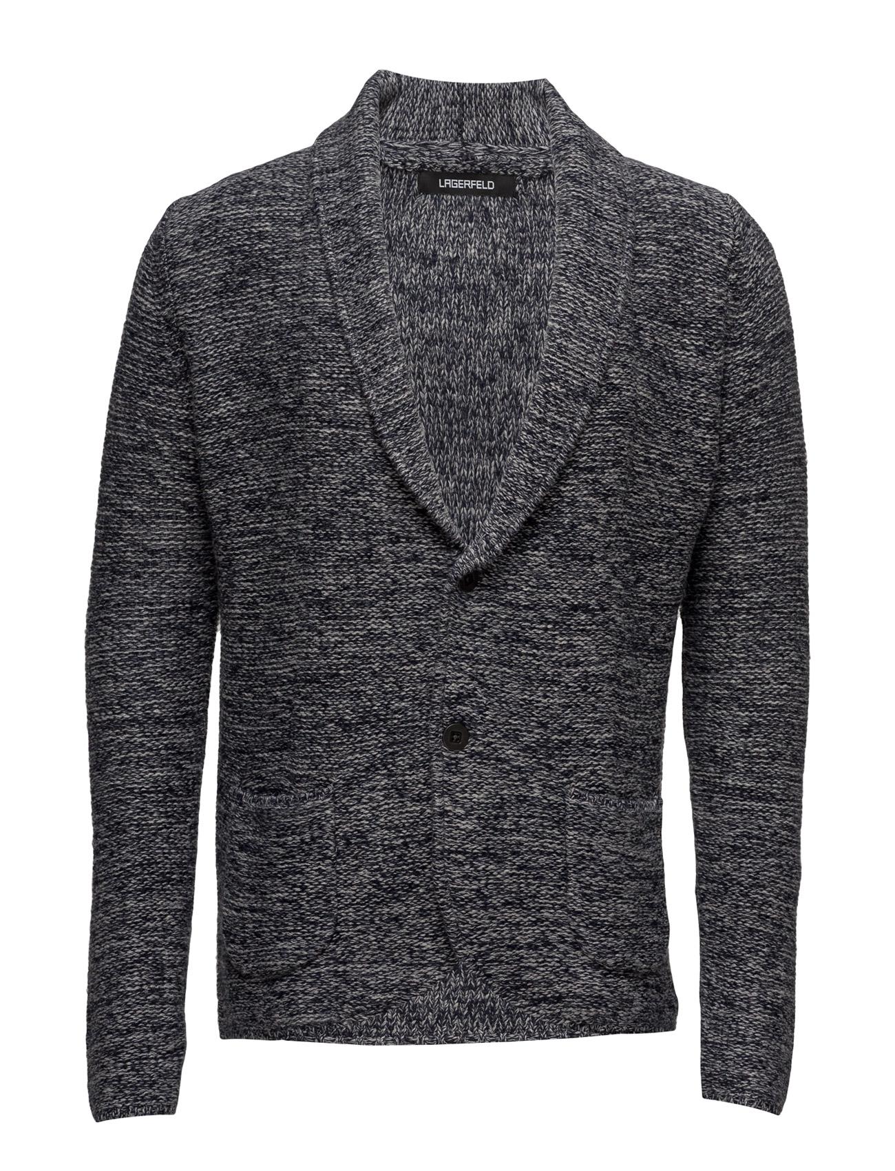 Knit jacket fra lagerfeld fra boozt.com dk