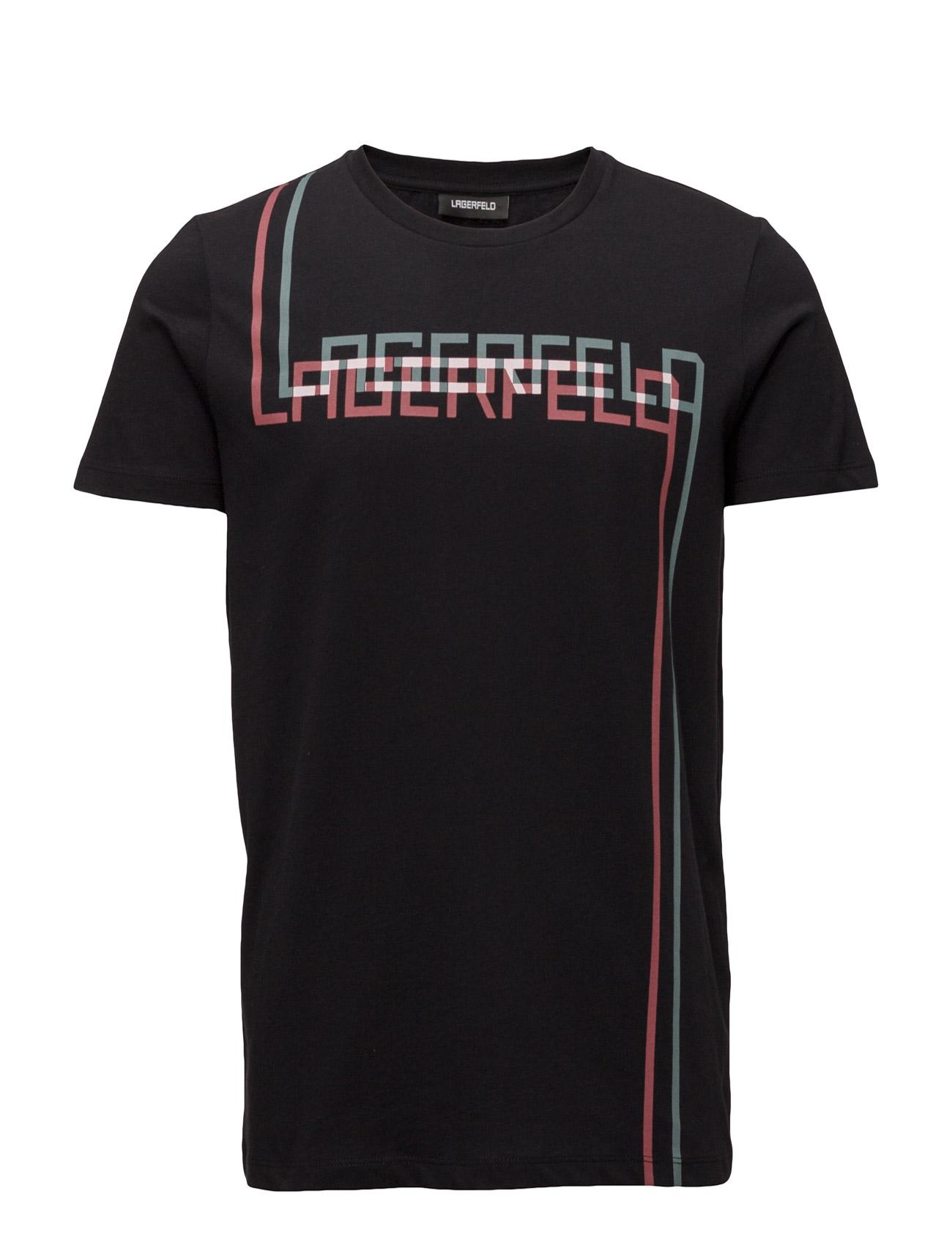 lagerfeld Print t-shirt fra boozt.com dk