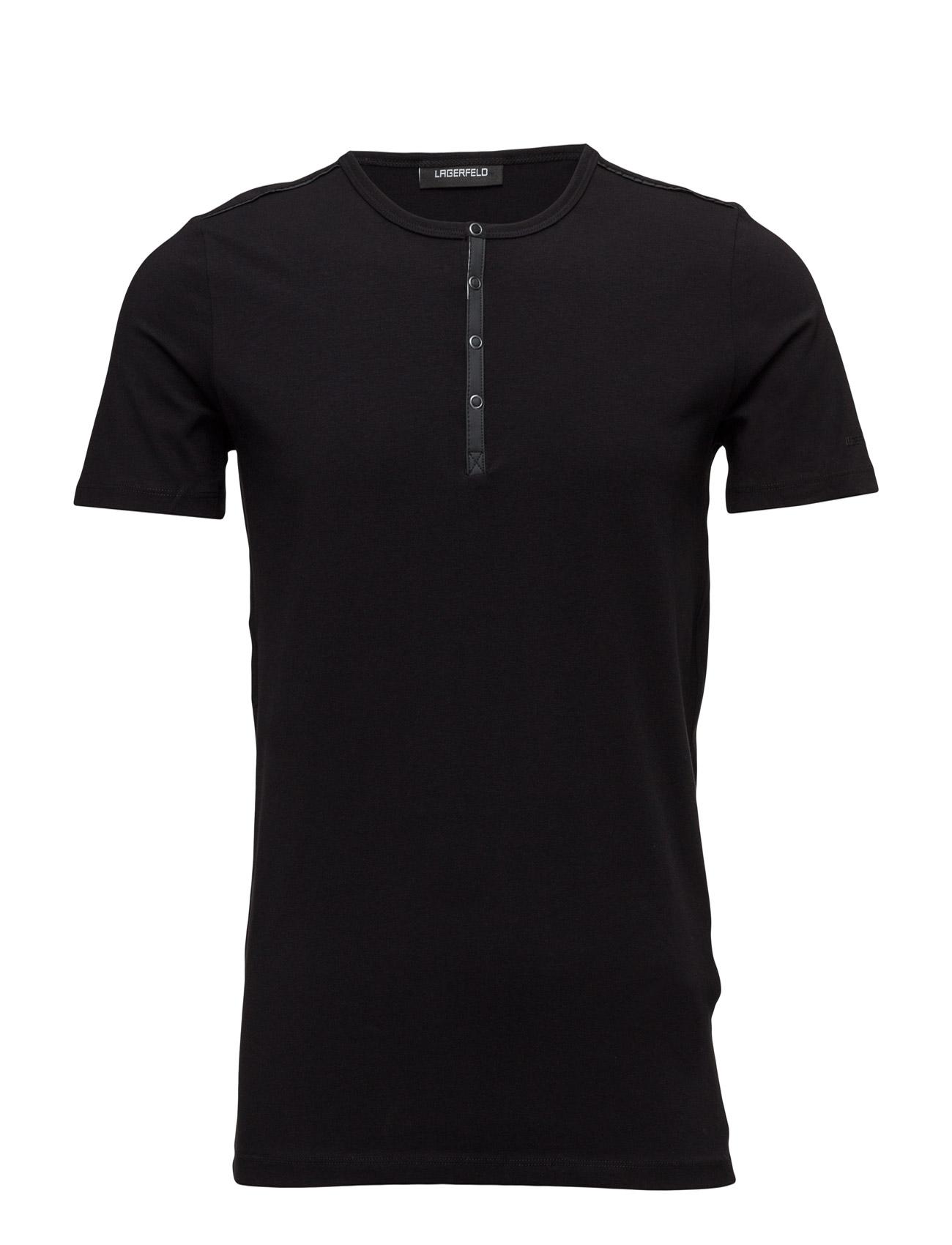 lagerfeld – T shirt roundneck på boozt.com dk