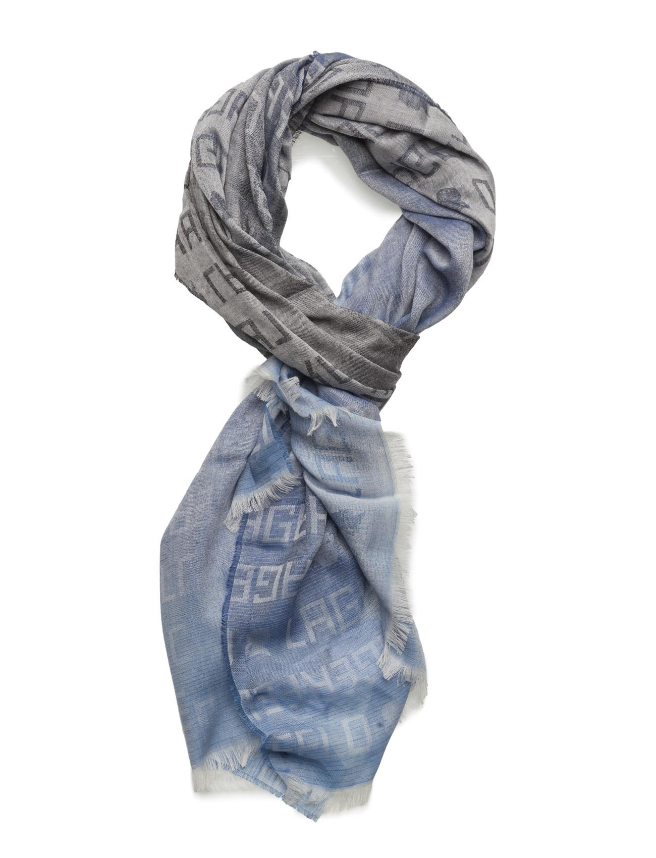 Scarf Lagerfeld Halstørklæder til Herrer i Navy blå