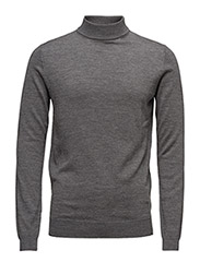 KNIT TURTLE NECK - 941-GREY