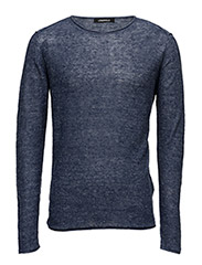 KNIT ROUNDNECK - BLUE