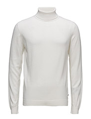 KNIT ROLLNECK - 040-LIGHT BEIGE