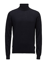 KNIT ROLLNECK - 690-NAVY