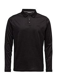 POLO LONG SLEEVE - 990-BLACK