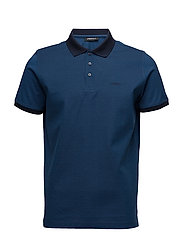 POLO BUTTON - 690-NAVY