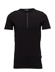 T SHIRT ROUNDNECK - 990-BLACK