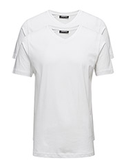 DUO PACK V-NECK - 010-WHITE