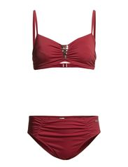Wire Bikini Lapiz Lascana - red