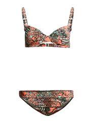 Wire-Bikini - olive-print