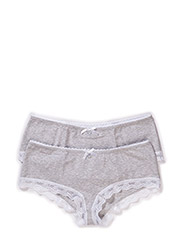 Pack of 2 panties - grey-melange