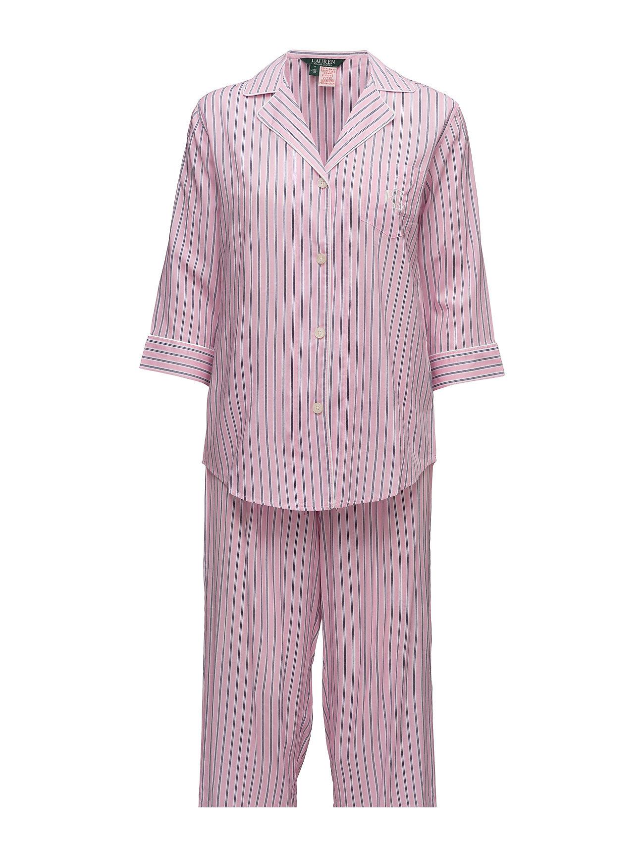 Lauren Ralph Lauren Homewear LRL MAYFAIR NOTCH COLLAR PJ SET