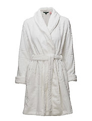 LRL GILDED AGE SCULPTED TERRY ROBE - WHITE