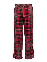 LRL GILDED AGE LONG PANT - RED PLAID