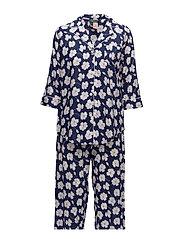 Lauren Ralph Lauren Homewear - Lrl Mayfair Notch Collar Pj Set