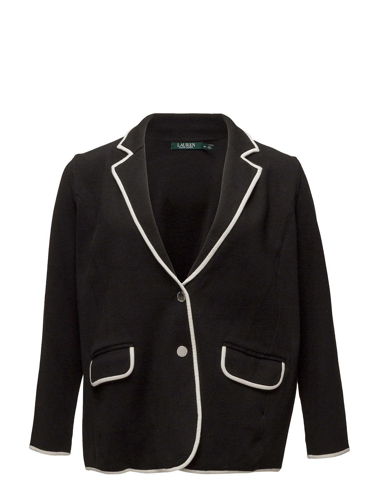 Stretch Cotton Sweater Blazer (Polo Black/herb) (99.50 €) - Lauren ...