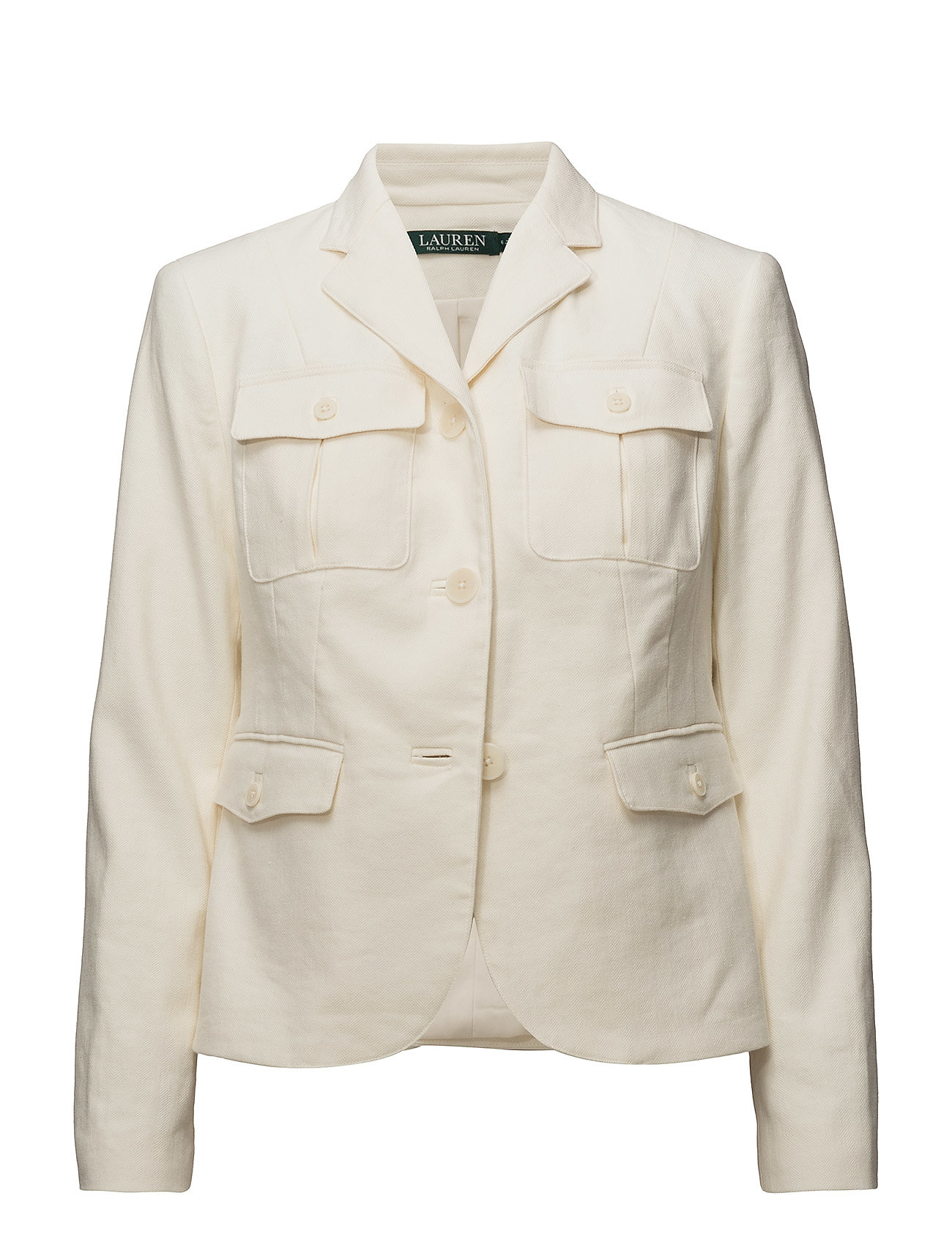 Lauren Ralph Lauren Herringbone Safari Jacket