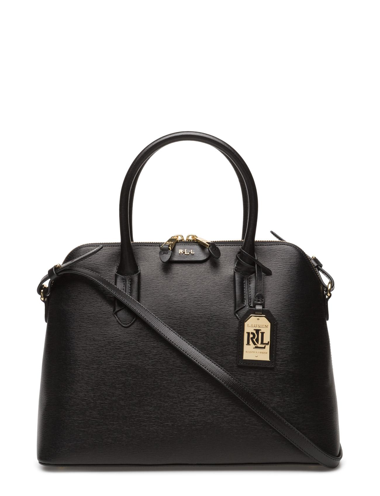 Lauren Ralph Lauren Dome Leather Satchel