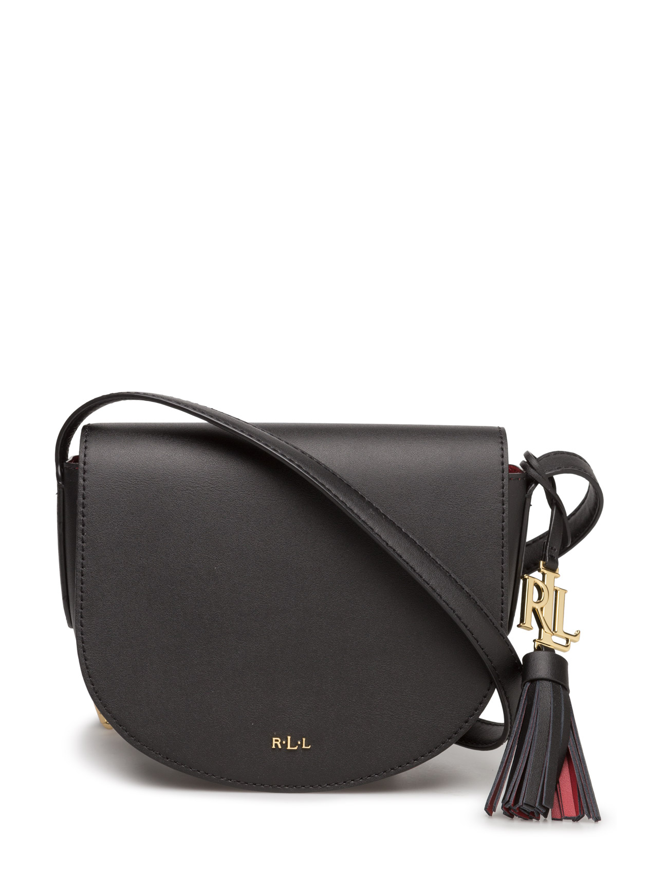 Lauren Ralph Lauren Leather Mini Caley Saddle Bag