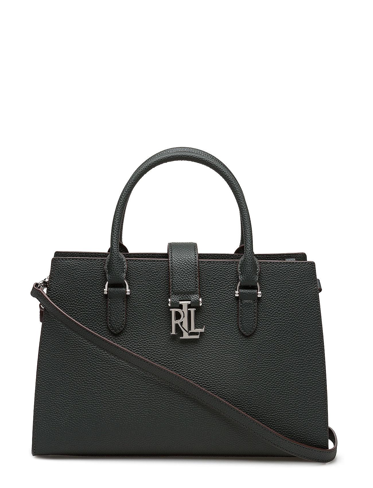 Lauren Ralph Lauren Leather Brigitte II Satchel
