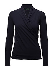 Surplice Jersey Top - RL NAVY