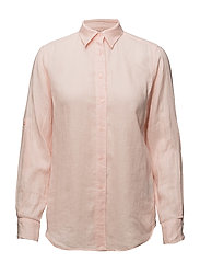 Linen Button-Down Shirt - ENGLISH ROSE