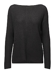 Ribbed Pullover - DARK GENTS HEATHE