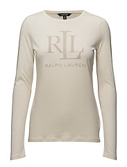 Studded Jersey Tee - NATURAL