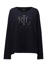 LRL Monogram Sweatshirt - RL NAVY