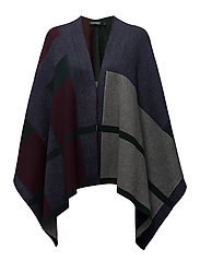 Cotton-Blend Cape - MULTI