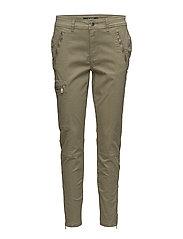 Twill Skinny Cargo Pant - AUTUMN SAGE