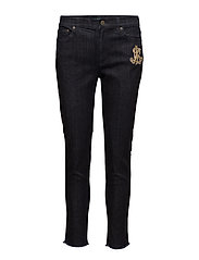 Premier Skinny Crop Jean - MIDNIGHT HAZE WAS