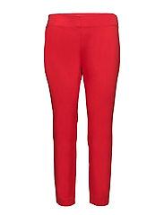 PLSHD BI STR TWLL-PANT - TOMATO RED