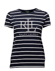 LRL Graphic T-Shirt - NAVY/WHITE
