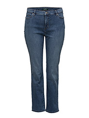 ULTIMATE STR INDIGO-STRAIGHT JEAN - HARBOR WASH