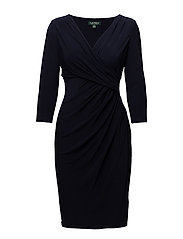 Ruched Jersey Dress - LIGHTHOUSE NAVY