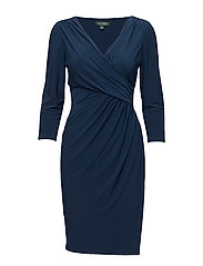 Ruched Jersey Dress - LUXE BERYL