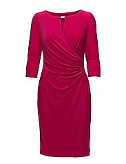 Ruched Jersey Dress - RIVERIA ROSE