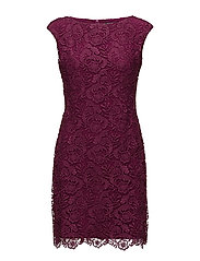 Lace Cap-Sleeve Dress - MINERVA BERRY
