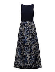 Fit-and-Flare Gown - NIGHT SKY/LH NAVY