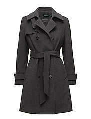 WOOL-WOOL COAT - DF GREY