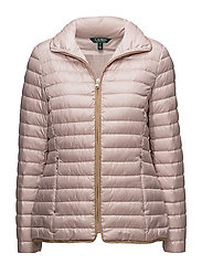 PEARL SHEEN-SYNTHETIC COAT - ENGLISH BLUSH